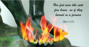 Revelation Chapter 1:14-20