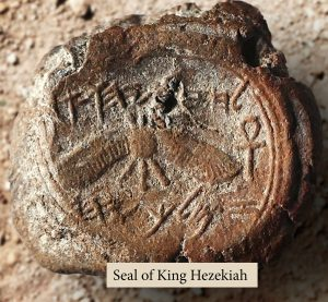 Seal Impressions of Hezekiah, Isaiah and a Servant of Josiah Discovered in Jerusalem Excavations