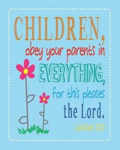 Obedient Children