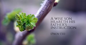 Discipline and Admonition of the Lord