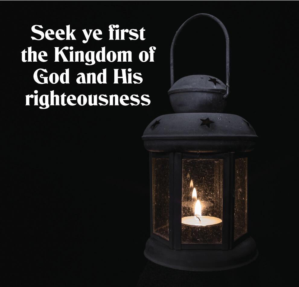 Seek Ye First (11)